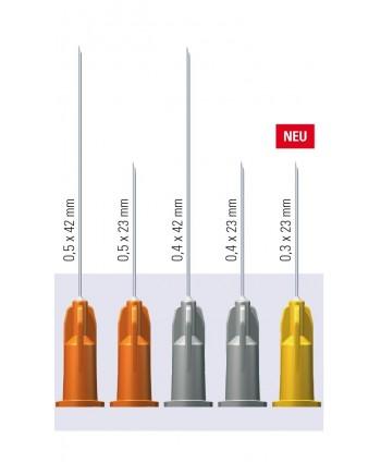 Injekcinės adatos, sterilios